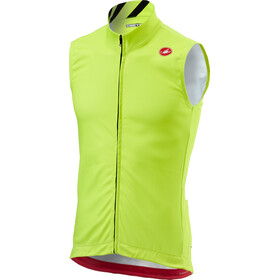 Castelli Thermal Pro Gilet cyclisme Homme, yellow fluo